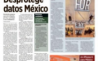 Desprotege datos México